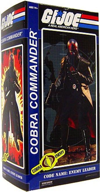 GI Joe Cobra Enemy Hooded Cobra Commander Collectible Figure
