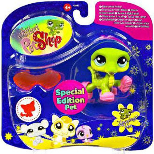Littlest Pet Shop 2009 Assortment B Series 3 Crocodile Figure #987