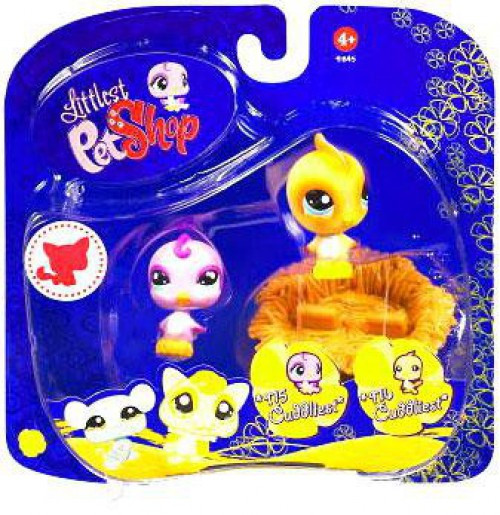 Littlest Pet Shop 2009 Assortment A Series 3 Birds Figure 2-Pack #915, 916 [Nest]