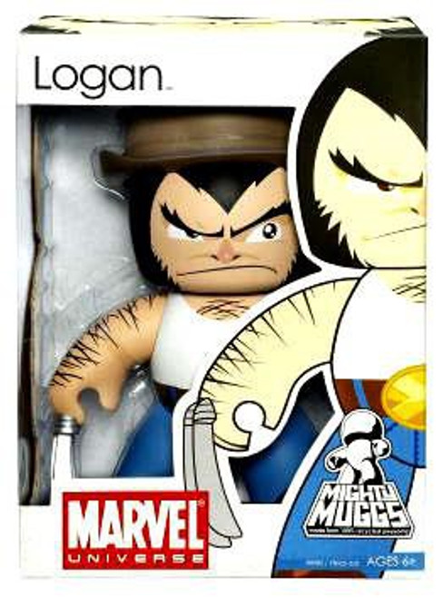Marvel Mighty Muggs Series 6 Logan Vinyl Figure