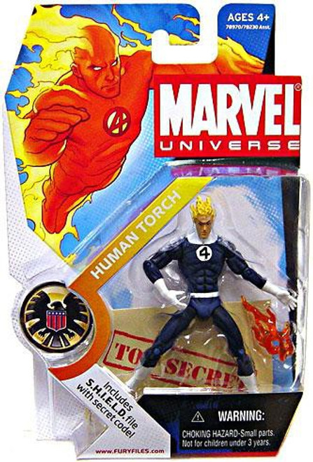 Marvel Universe Human Torch Action Figure #11