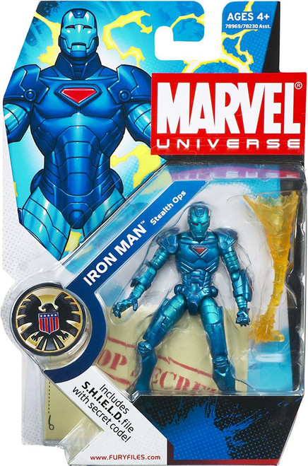 Marvel Universe Stealth Ops Iron Man Action Figure #9