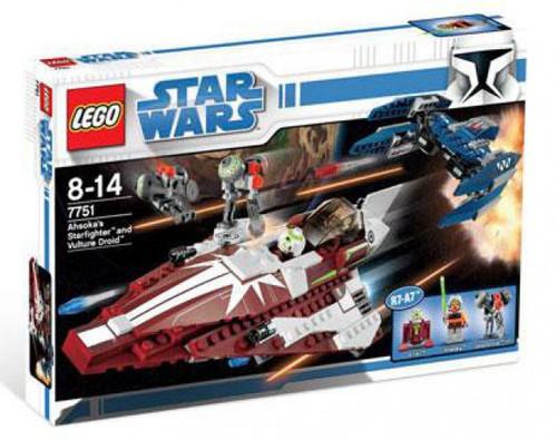 LEGO Star Wars The Clone Wars Ahsoka's Starfighter & Droids Set #7751