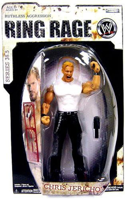 WWE Wrestling Ruthless Aggression Series 38.5 Ring Rage Chris Jericho Action Figure
