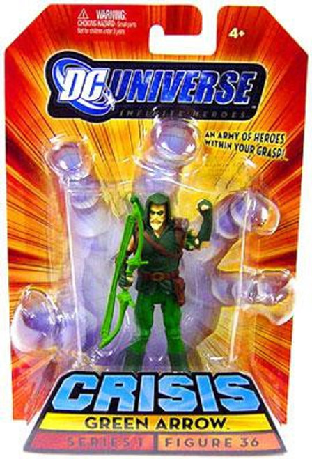 DC Universe Crisis Infinite Heroes Series 1 Green Arrow Action Figure #36