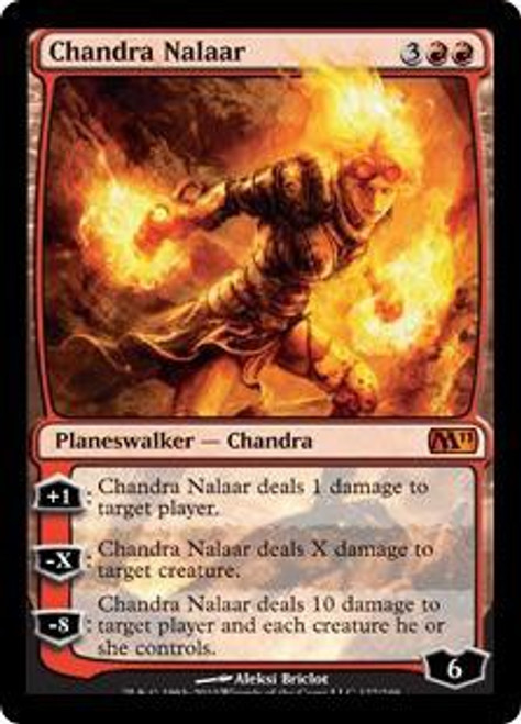MtG 2011 Core Set Mythic Rare Chandra Nalaar #127
