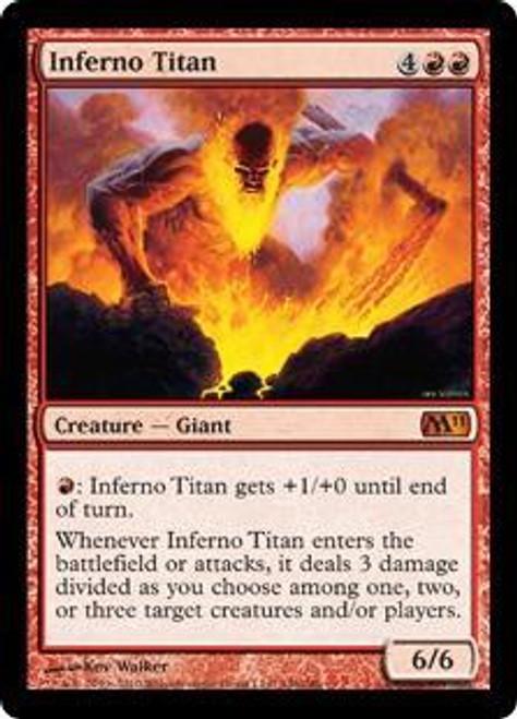 MtG 2011 Core Set Mythic Rare Inferno Titan #146