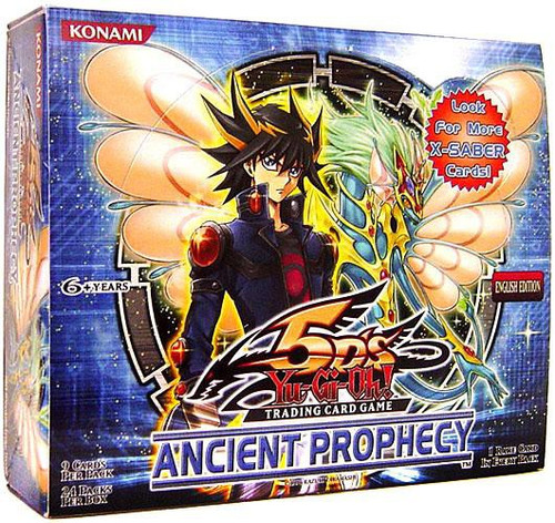 YuGiOh Trading Card Game Ancient Prophecy Booster Box [24 Packs]