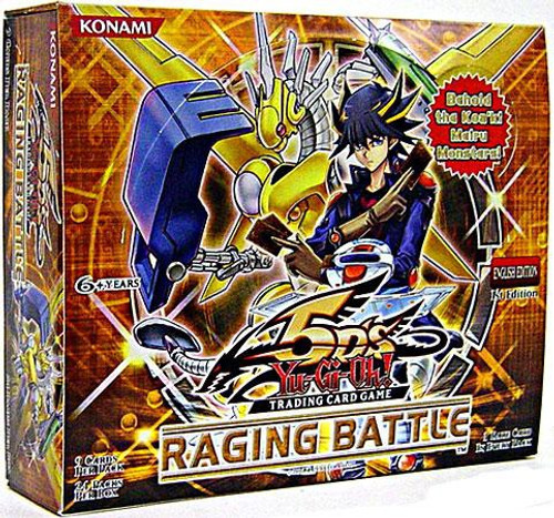 YuGiOh Trading Card Game Raging Battle Booster Box [24 Packs]