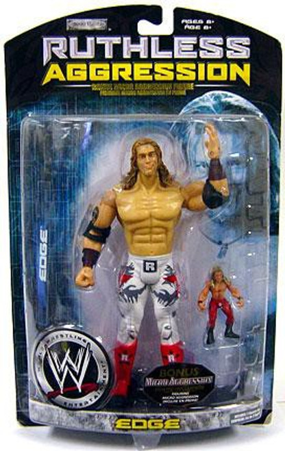 WWE Wrestling Ruthless Aggression Series 29 Edge Action Figure [With Micro Aggression Figure]