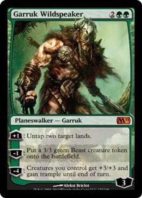 MtG 2011 Core Set Mythic Rare Garruk Wildspeaker #175