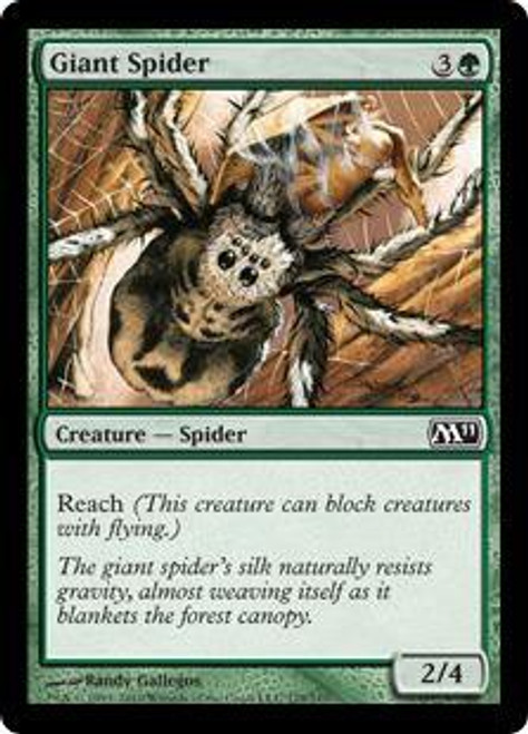 MtG 2011 Core Set Common Giant Spider #179