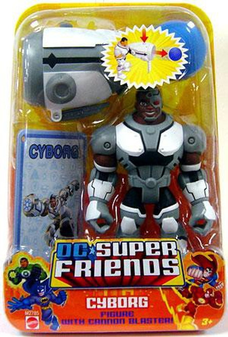 DC Super Friends Cyborg Action Figure