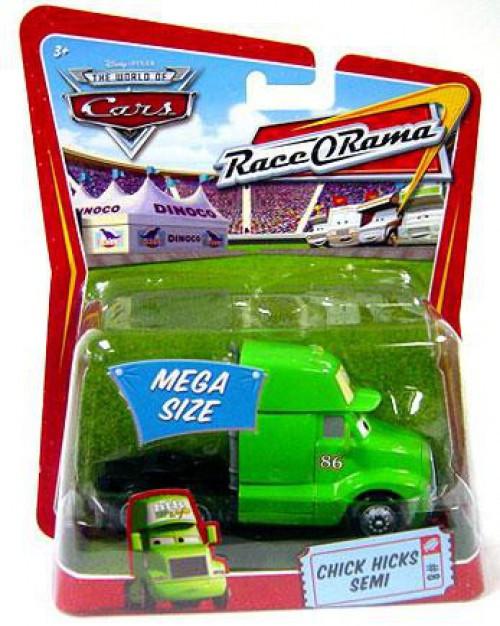 Disney / Pixar Cars The World of Cars Race-O-Rama Chick Hicks Semi Diecast Car #8