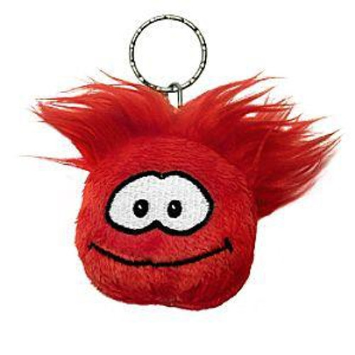 Club Penguin Red Puffle 2-Inch Plush Keychain