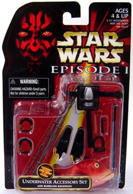 Star Wars Phantom Menace 1999 Episode I Basic Underwater Accessory Set Action Figure Accessory