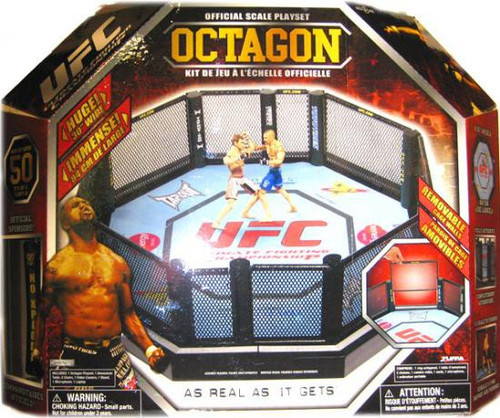 UFC Official Scale Octagon Action Figure Playset