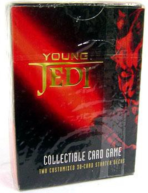 Star Wars Phantom Menace Young Jedi CCG Darth Maul Starter Deck