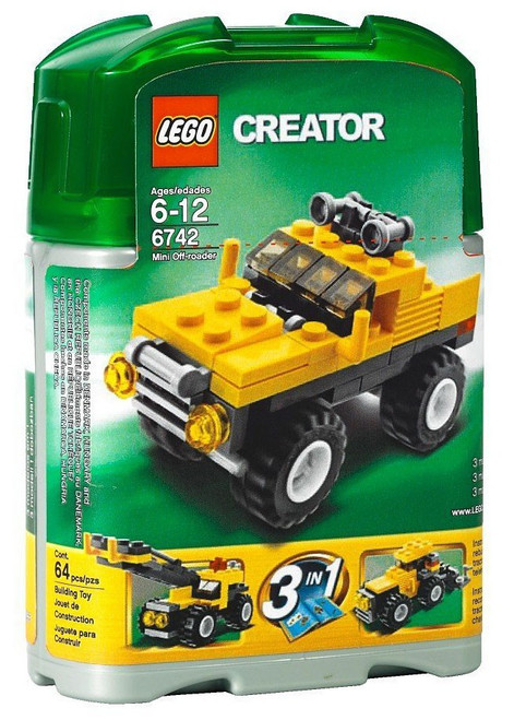 LEGO Creator Mini Off-Roader Set #6742