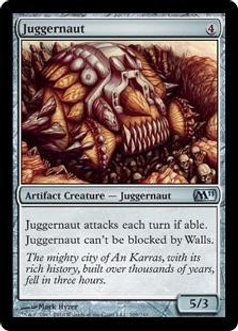 MtG 2011 Core Set Uncommon Juggernaut #209