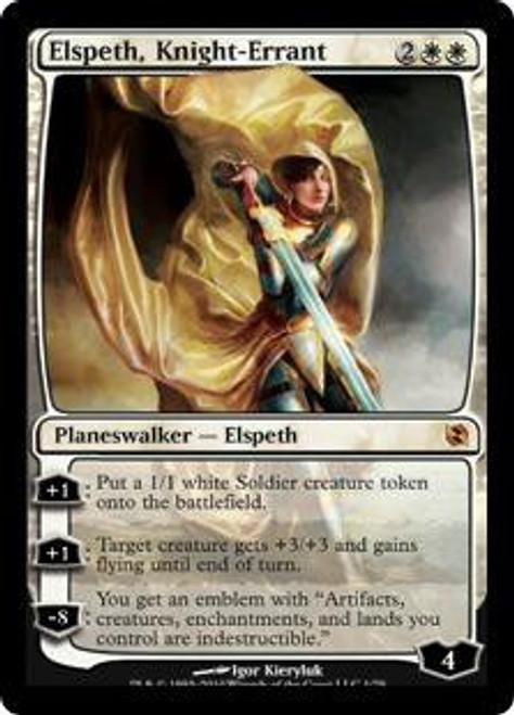 MtG Duel Decks: Elspeth vs. Tezzeret Mythic Rare Elspeth, Knight-Errant #1