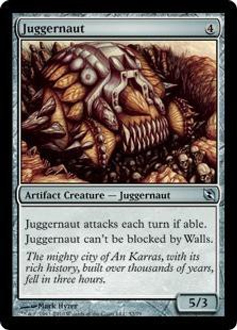 MtG Duel Decks: Elspeth vs. Tezzeret Uncommon Juggernaut #52