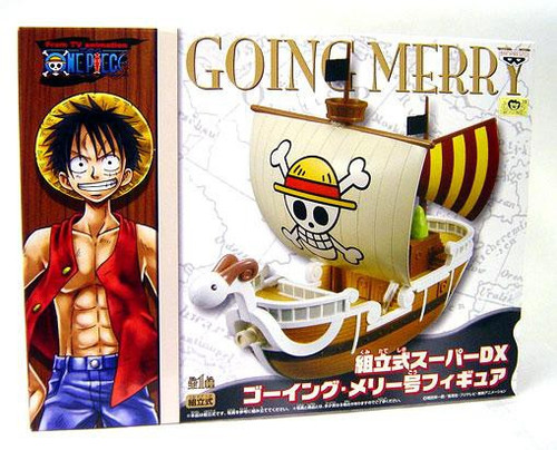 One Piece DX Straw Hat Pirate Ship Going Merry PVC Figure