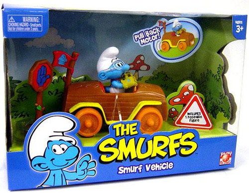 The Smurfs Smurf Vehicle Figure Set