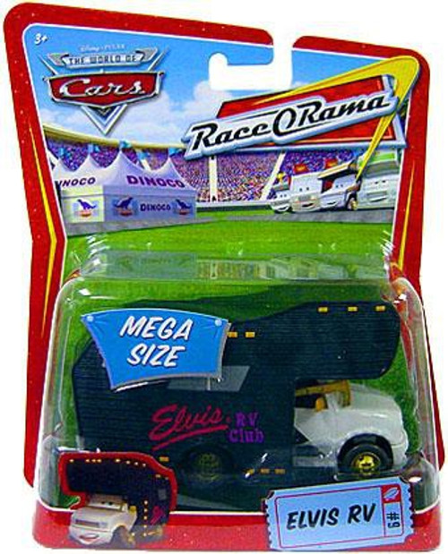 Disney / Pixar Cars The World of Cars Race-O-Rama Elvis RV Diecast Car #9