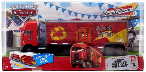 Disney / Pixar Cars The World of Cars Race-O-Rama Jerry Recycled Batteries Hauler Diecast Car