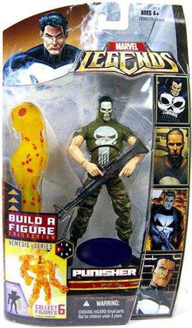 Marvel Legends Nemesis Build a Figure Punisher Exclusive Action Figure [Vietnam Painted Face Variant]