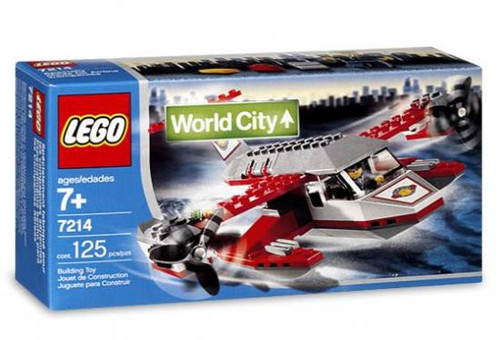 LEGO World City Seaplane Set #7214