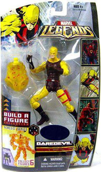 Marvel Legends Nemesis Series Daredevil Exclusive Action Figure [Yellow & Brown Suit]
