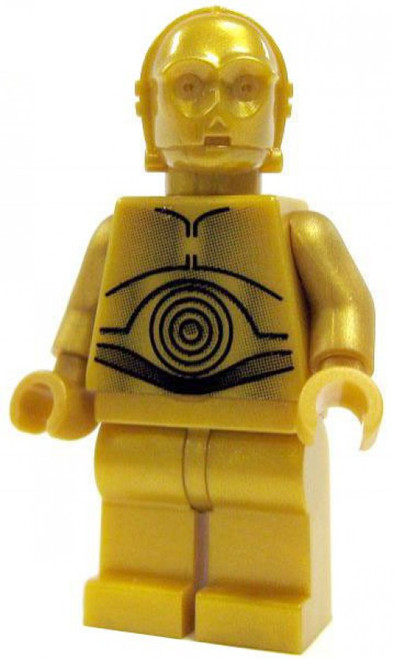LEGO Star Wars A New Hope C-3PO Minifigure [Dark Gold Pearl Loose]