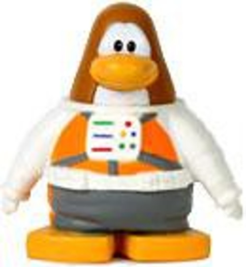 Club Penguin Spaceman with Helmet 2-Inch Mini Figure
