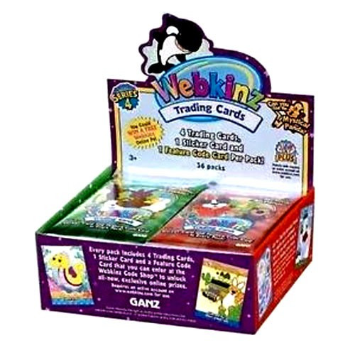 WEBKINZ SERIES 2 TRADING CARDS BOX BLOWOUT CARDS