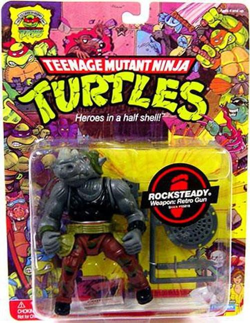 Teenage Mutant Ninja Turtles TMNT 1987 25th Anniversary Rocksteady Action Figure