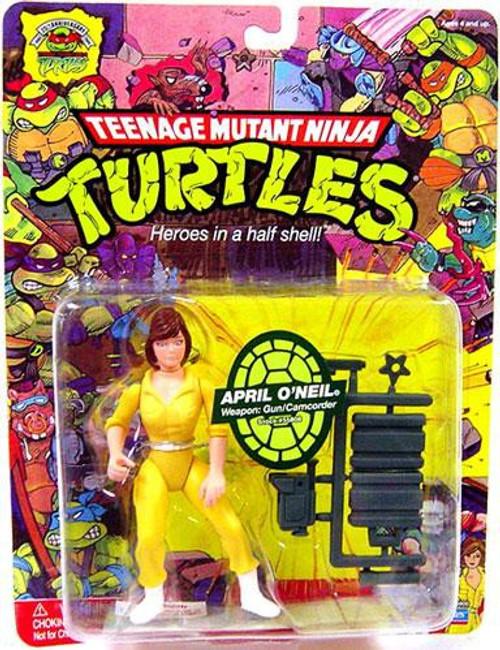 Teenage Mutant Ninja Turtles TMNT 1987 25th Anniversary April O'Neil Action Figure