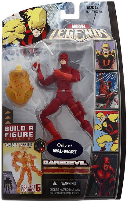 Marvel Legends Nemesis Series Daredevil Exclusive Action Figure [Red Suit Variant]