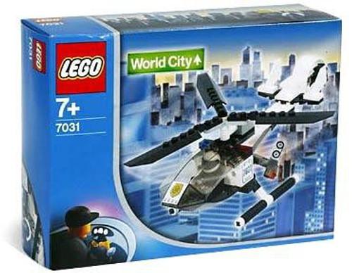 LEGO World City Helicopter Set #7031