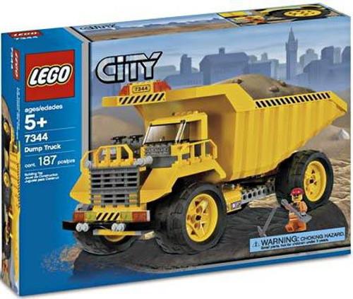 LEGO City Dump Truck Set #7344