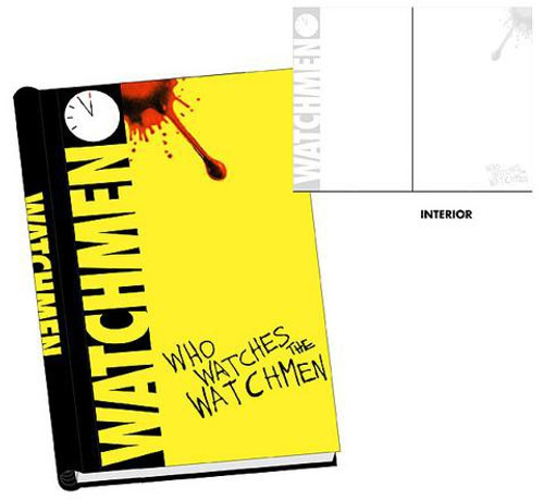 """NECA """"Who Watches the Watchmen"""" Hardcover Journal"""