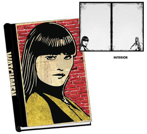NECA Watchmen Silk Spectre Hardcover Journal