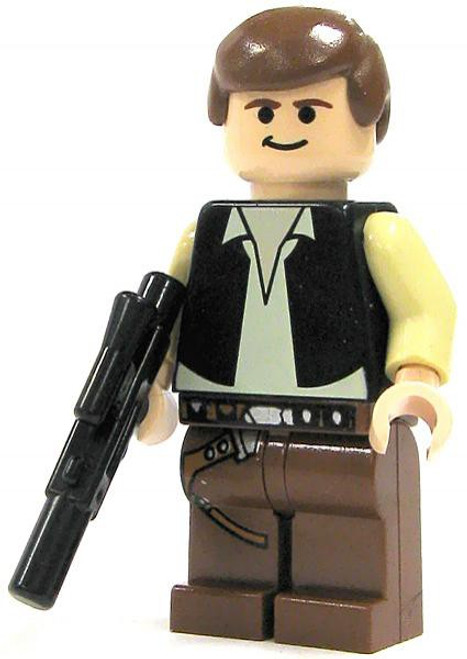 LEGO Star Wars Han Solo Minifigure [A New Hope Loose]