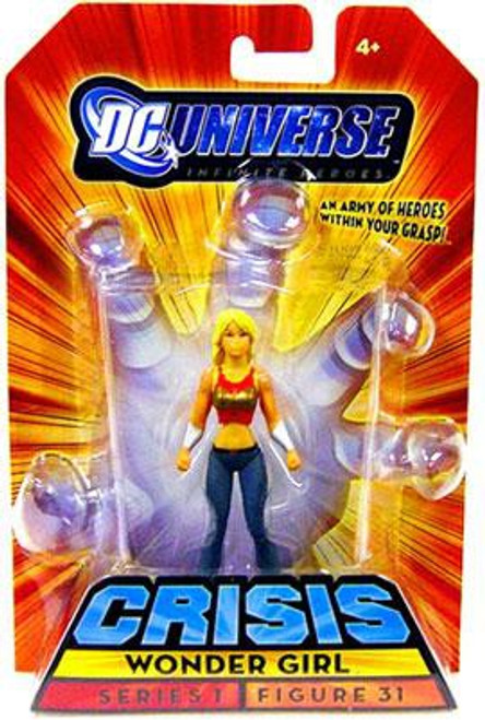 DC Universe Crisis Infinite Heroes Series 1 Wonder Girl Action Figure #31