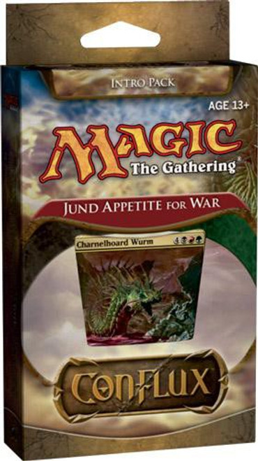 MtG Trading Card Game Conflux Jund Appetite for War Intro Pack