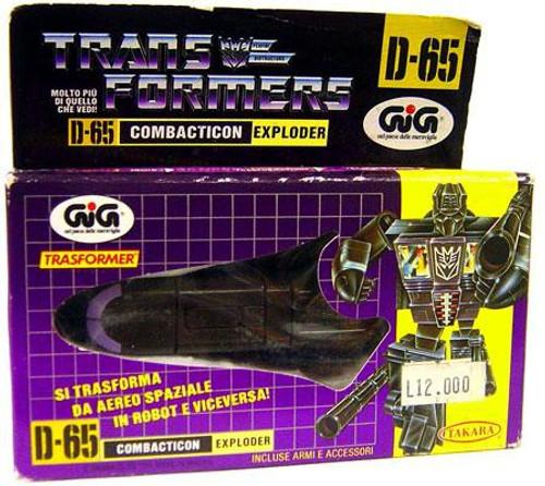 Transformers European Blast Off Action Figure D-65 [European]