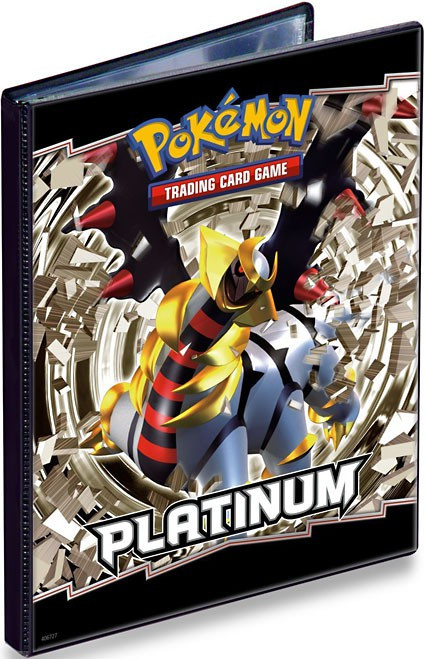 Ultra Pro Pokemon Card Supplies Platinum 4-Pocket Binder