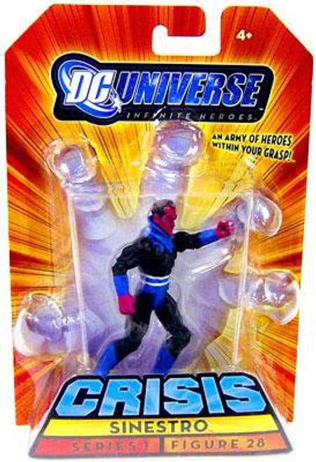 DC Universe Crisis Infinite Heroes Series 1 Sinestro Action Figure #28