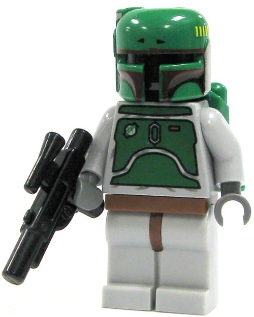 LEGO Star Wars Boba Fett Minifigure [Gray Loose]